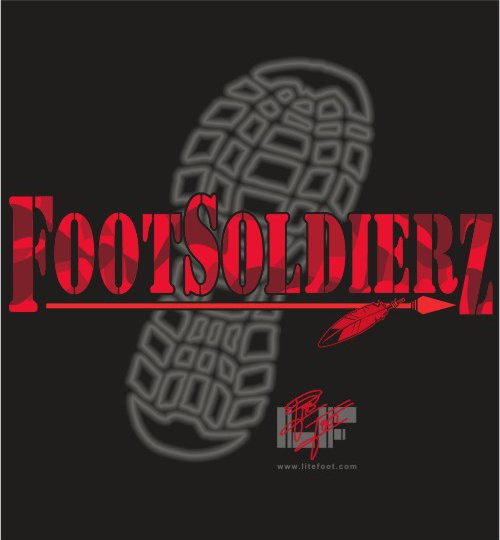 Get involved with Foot Soldierz Today- Enlist now!