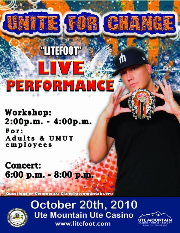 Litefoot to perform at Ute Mountain Ute Casino